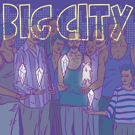 big city self titled okayama pup punk japan uncommon music 2017 punk nerds