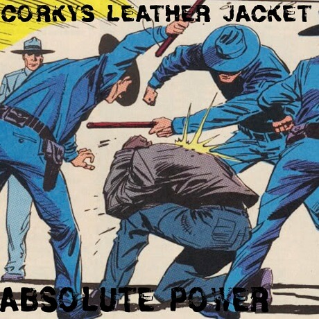 corkys leather jacket absolute power gilbert arizona street punk uncommon music 2017 punk nerds